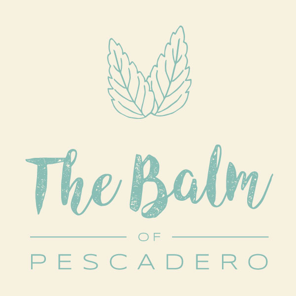 The Balm of Pescadero logo